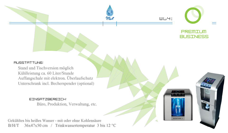 Wasserspender PREMIUM Business