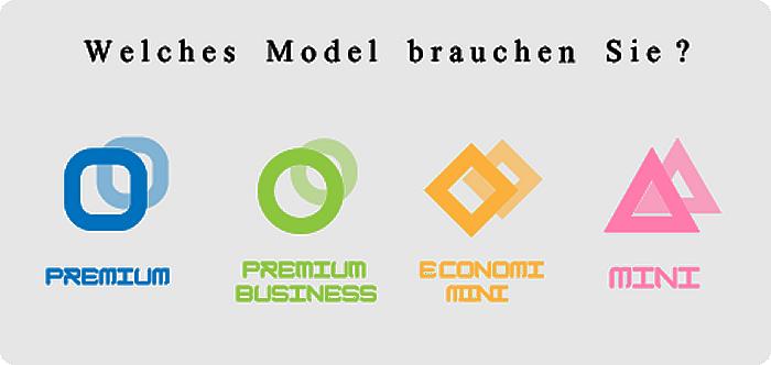 Welches Model brauchen Sie?